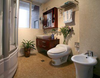 经济型80平米公寓东南亚风格卫生间欣赏图
