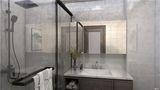 120平米三中式风格卫生间设计图