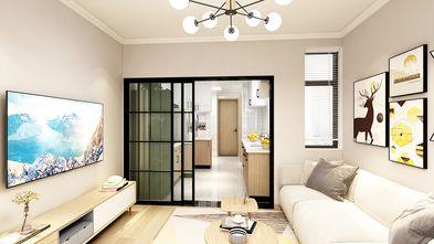 60平米一室两厅日式风格客厅装修案例