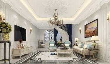 100平米三室一厅欧式风格客厅图片