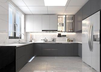 140平米三室三厅中式风格厨房欣赏图