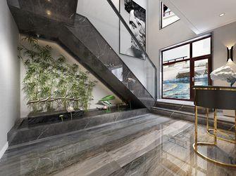 140平米复式美式风格楼梯间图片