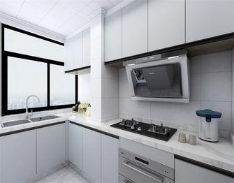 100平米三现代简约风格厨房装修图片大全