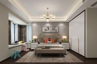 140平米四室五厅现代简约风格卧室欣赏图