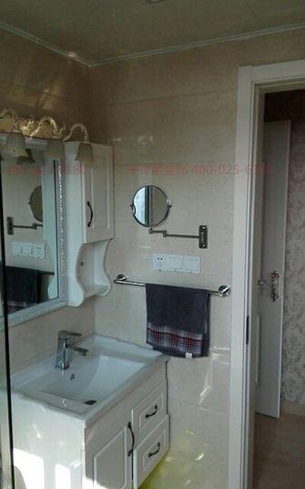 100平米三室两厅欧式风格卫生间欣赏图