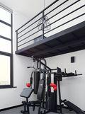 130平米复式欧式风格健身室欣赏图