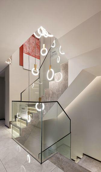 140平米四室两厅北欧风格楼梯间设计图