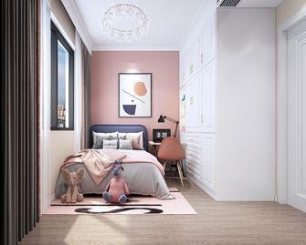 100平米三室两厅现代简约风格儿童房装修案例