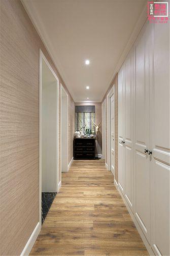 120平米三室一厅混搭风格走廊图片大全