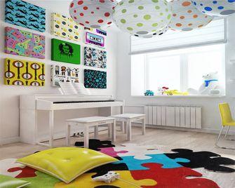 100平米三室一厅中式风格儿童房装修图片大全