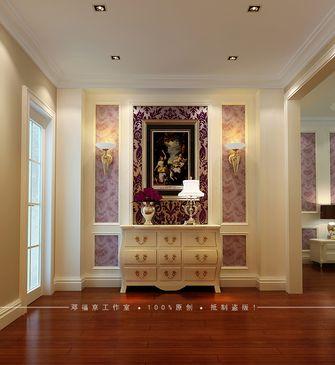 经济型130平米三室两厅美式风格玄关设计图