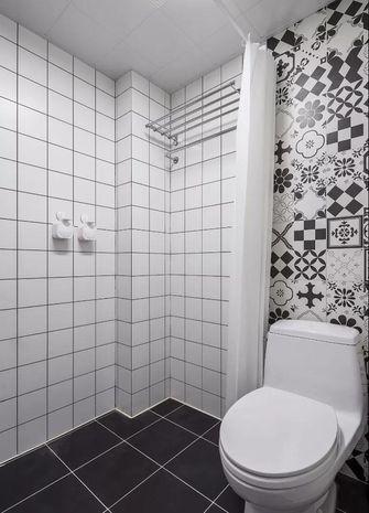 110平米三室两厅宜家风格卫生间图