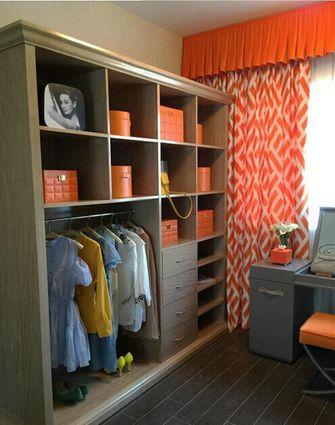 富裕型110平米三室两厅东南亚风格衣帽间图片大全