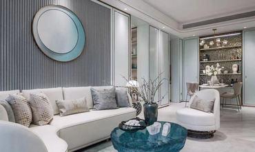 90平米中式风格客厅欣赏图