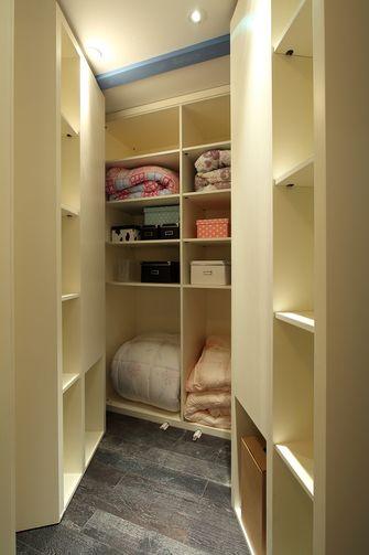 经济型110平米三室两厅地中海风格衣帽间鞋柜图片大全