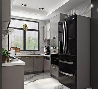 130平米三室一厅现代简约风格厨房图片