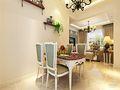 80平米田园风格餐厅家具图片