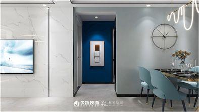 100平米三室两厅现代简约风格玄关设计图