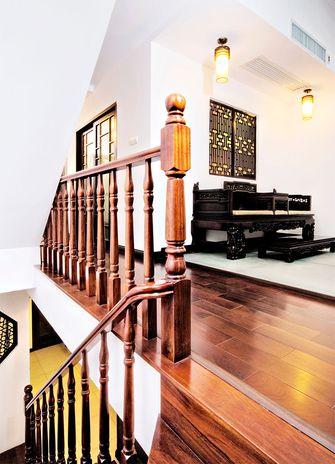 富裕型130平米复式中式风格楼梯图片大全