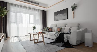 110平米三室两厅日式风格客厅装修案例
