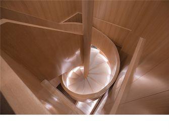 140平米日式风格楼梯间欣赏图