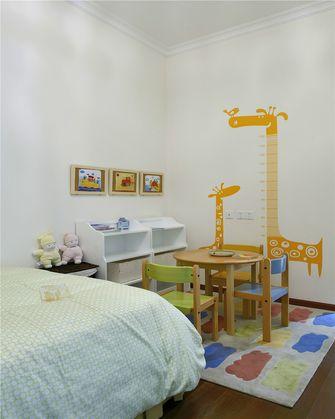 80平米田园风格儿童房装修效果图