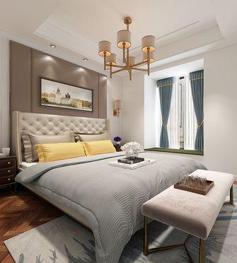 130平米四室四厅美式风格卧室装修效果图