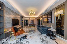 140平米三室兩廳混搭風格客廳圖片大全