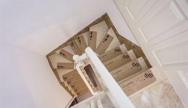 140平米复式新古典风格楼梯间装修案例