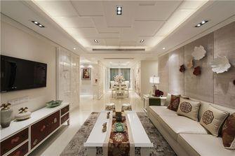 120平米三室两厅中式风格客厅沙发欣赏图