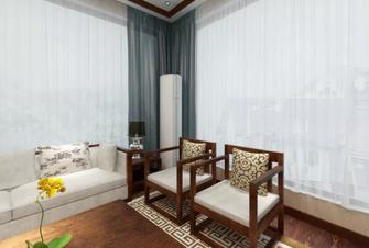 110平米公寓中式风格阳台装修案例