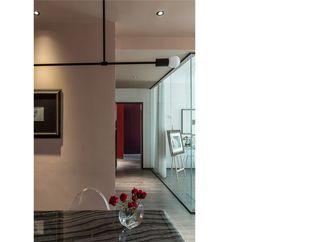 120平米英伦风格走廊欣赏图