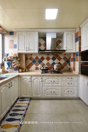 140平米四室两厅地中海风格厨房装修图片大全