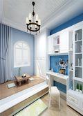 140平米三室一厅地中海风格阳光房图