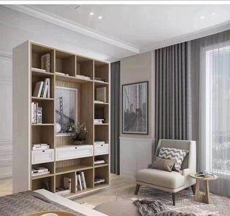 130平米四室两厅混搭风格书房图片