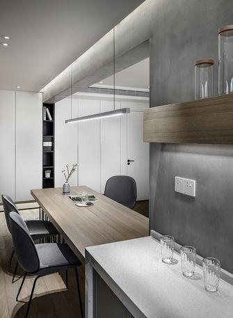 70平米一室一厅现代简约风格书房图片