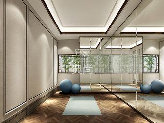 130平米三室一厅中式风格阳光房图片大全