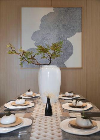 豪华型140平米别墅日式风格餐厅图片
