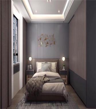 140平米三室两厅北欧风格卧室欣赏图