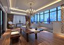 140平米别墅法式风格阁楼图