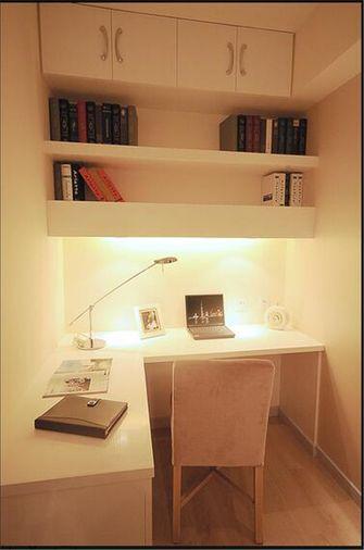 3-5万60平米公寓法式风格书房图