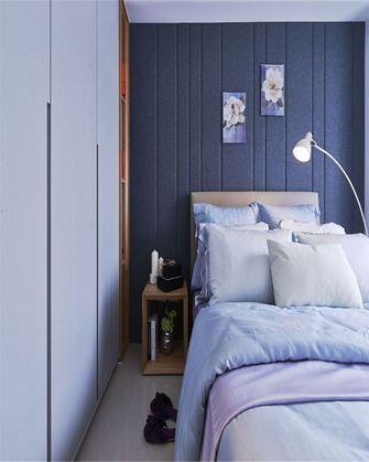 80平米三室一厅混搭风格卧室装修图片大全