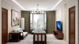130平米三室一厅新古典风格客厅效果图