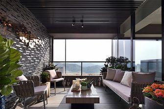 100平米现代简约风格阳光房设计图