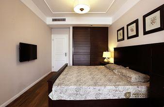 90平米三室一厅英伦风格卧室效果图