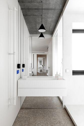 豪华型70平米一室一厅现代简约风格卫生间图