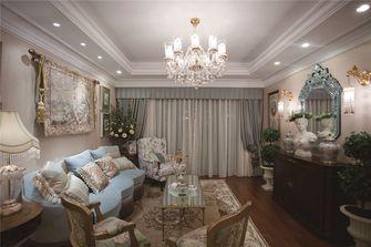 80平米法式风格客厅欣赏图