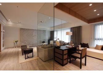140平米三室两厅新古典风格书房装修图片大全