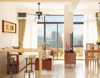 60平米东南亚风格客厅装修效果图
