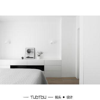 20万以上60平米一居室现代简约风格卧室图片